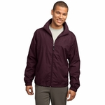 Sport-Tek Men's Wind Jacket: Full-Zip (JST70)