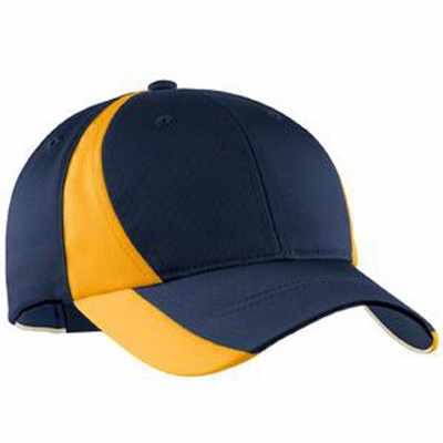 Sport-Tek Youth Cap: Dry Zone Nylon Colorblock (YSTC11)