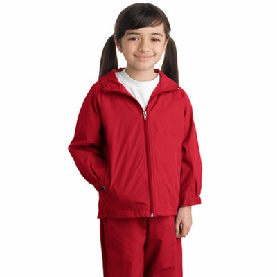 Sport-Tek Youth Jacket: Hooded Raglan (YST73)