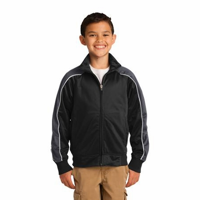 Sport-Tek Youth Jacket: (YST92)