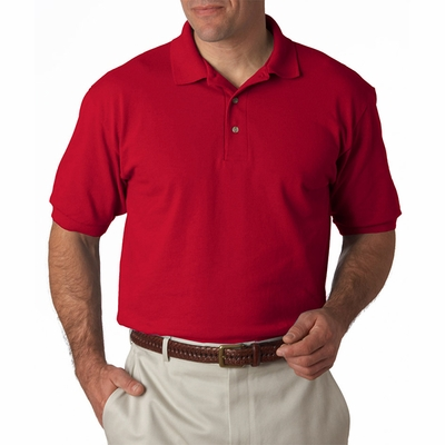 Stedman by Hanes Men's Polo Shirt: 100% Cotton Pique (055)