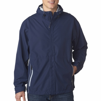 Storm Creek Men's Jacket: Seam Sealed Waterproof with Hood (S6510)