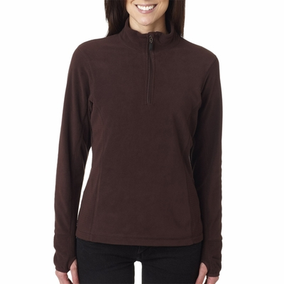 Storm Creek Women's Jacket: Lightweight Microfleece 1/4 Zip Pullover (4608)