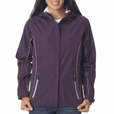 Storm Creek Women's Jacket: Seam Sealed Waterproof with Hood (6515)
