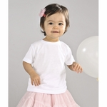 SubliVie Infant T-Shirt: 100% Polyester Jersey Knit (1410)