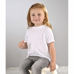 SubliVie Toddler T-Shirt: 100% Polyester Jersey Knit (1310)