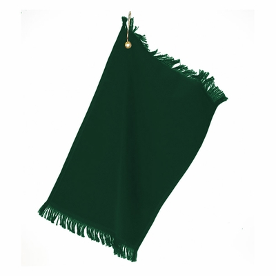 Towels Plus Fingertip Towel: 100% Cotton Fringed Grommet (T60GH)
