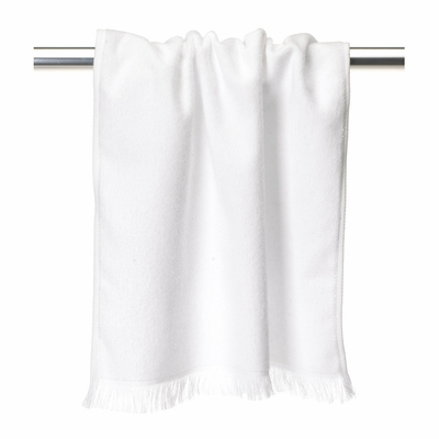 Towels Plus Hand Towel: 100% Cotton Fringed (T640)