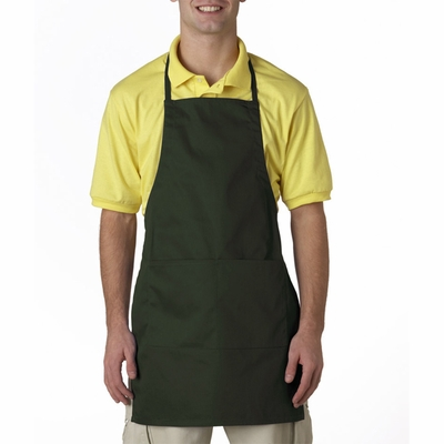 UltraClub Apron: Two-Pocket Adjustable (8204)