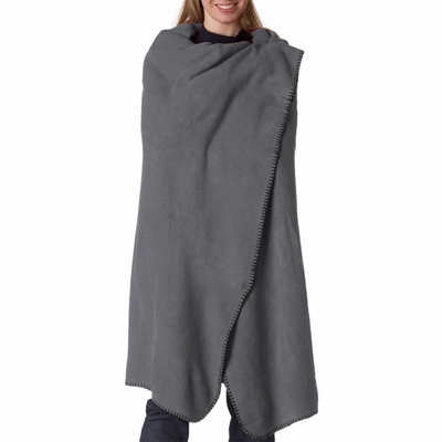 UltraClub Blanket: Iceberg Fleece Throw (8484)