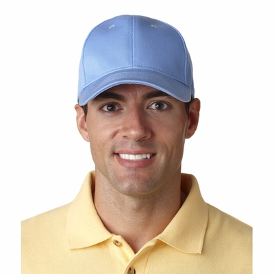 UltraClub Cap: 100% Cotton Classic Cut Chino Twill Constructed (8101)