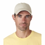 UltraClub Cap: 100% Cotton Classic Cut Chino Twill Unconstructed (8102)