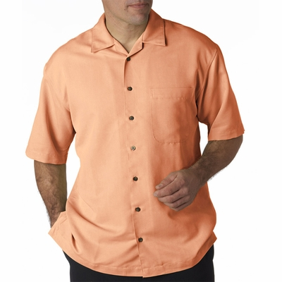 UltraClub Men's Camp Shirt: Cabana Breeze (8980)