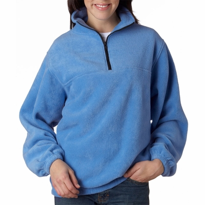 UltraClub Men's Jacket: Iceberg Fleece 1/4-Zip Pullover (8480)
