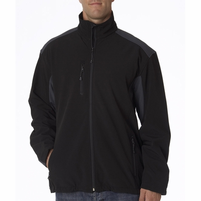 UltraClub Men's Jacket: Soft Shell (8479)