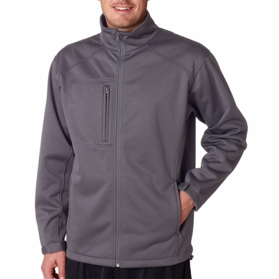 UltraClub Men's Jacket: Softshell Solid (8477)