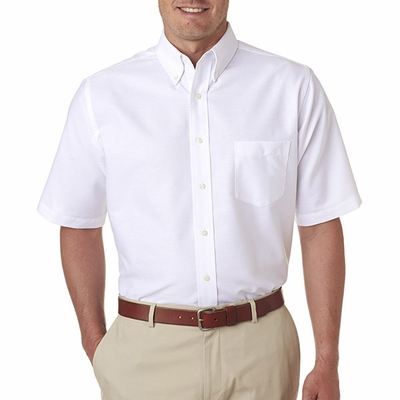 UltraClub Men's Oxford Shirt: (8972T)