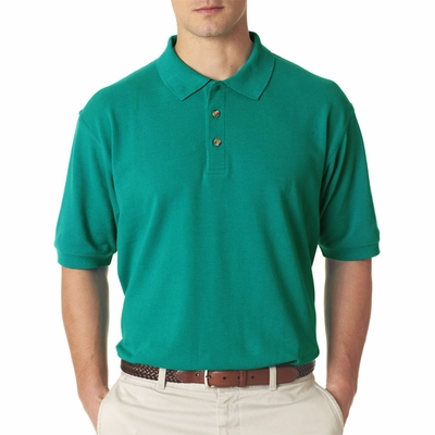 UltraClub Men's Polo Shirt: 100% Cotton Classic Pique (8535)