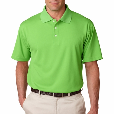UltraClub Men's Polo Shirt: Cool-N-Dry Stain-Release Performance (8445)