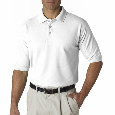 UltraClub Men's Polo Shirt: Tall Whisper Pique (8540T)