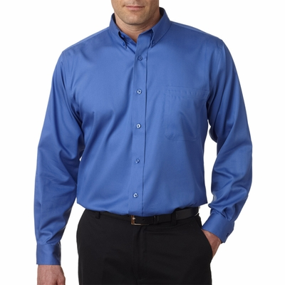 UltraClub Men's Twill Shirt: (8370)