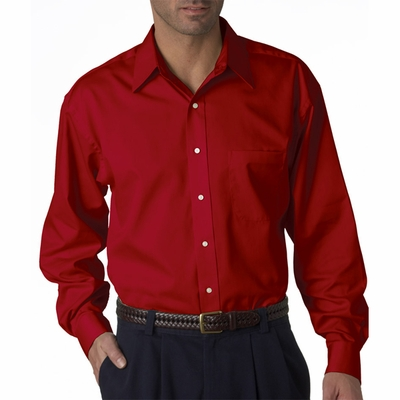 UltraClub Men's Twill Shirt: Whisper Elite (8991)