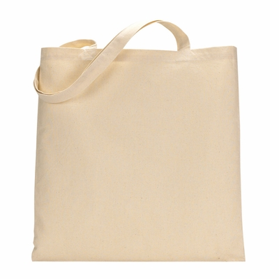 UltraClub Tote Bag: 100% Cotton Canvas without Gusset (8860)