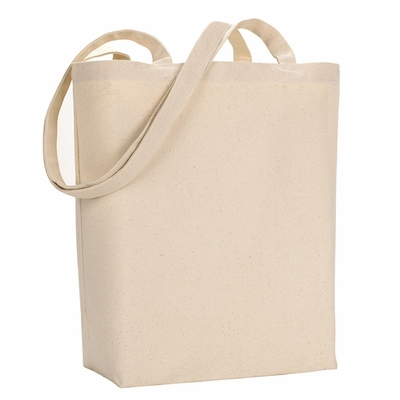 UltraClub Tote Bag: 100% Cotton Star of India Canvas (8866)
