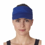 UltraClub Visor: 100% Cotton Classic Cut Chino Twill (8103)