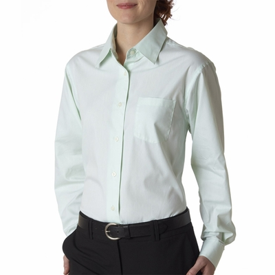 UltraClub Women's Dress Shirt: (8361)
