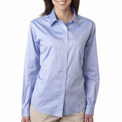 UltraClub Women's Dress Shirt: (8381)