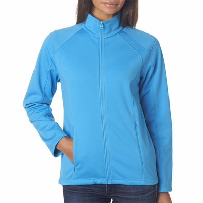 UltraClub Women's Jacket: Full Zip Soft Shell (8477L)
