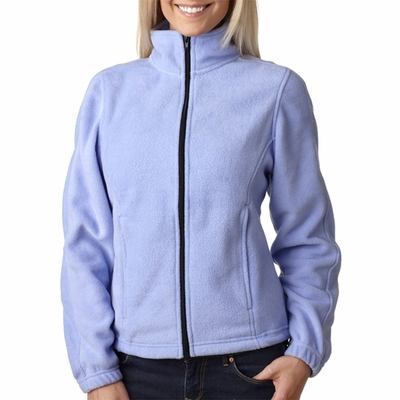 UltraClub Women's Jacket: Iceberg Fleece Full-Zip (8481)