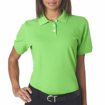 UltraClub Women's Polo Shirt: (7500L)