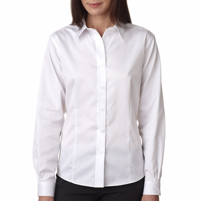 UltraClub Women's Twill Shirt: (8371)