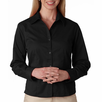 UltraClub Women's Twill Shirt: Whisper (8976)