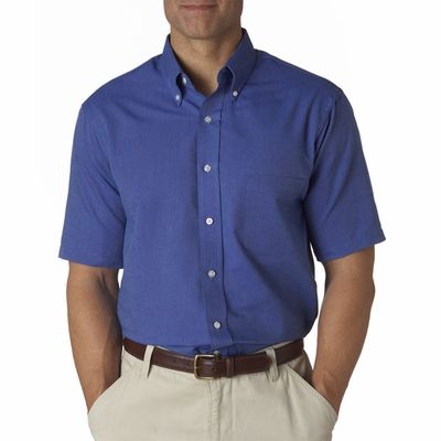 Van Heusen Men's Oxford Shirt: Classic Short-Sleeve (57850)