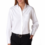 Van Heusen Women's Oxford Shirt: Wrinkle-Resistant Blended Pinpoint (13V0110)