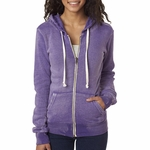 W2350 MV Sport Ladies' Angel Sanded Hooded Fleece