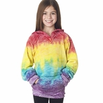 WEATHERPROOF Girls Sweatshirt: Courtney Burnout Hoodie (W1162Y)