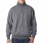 Weatherproof Men's Sweatshirt: 80/20 Cadet Collar 1/4 Zip Pullover (2386)