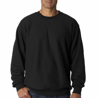 Weatherproof Men's Sweatshirt: Cross Weave Crewneck (7788)