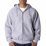 Adult Cross Weave® Full-Zip Hooded Sweatshirt: (WP7711)