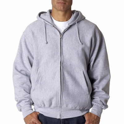 Weatherproof Men's Sweatshirt: Cross Weave Full Zip w/ Hood (7711)