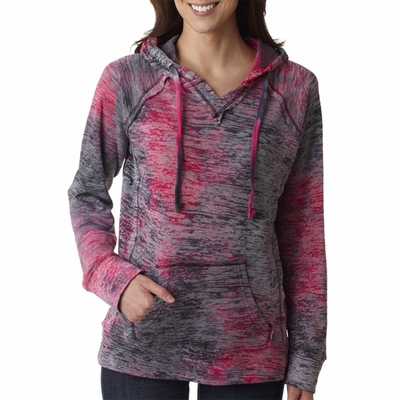 WEATHERPROOF Women's Sweatshirt: Courtney Burnout Hoodie (W1162)