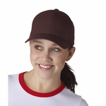 Yupoong Cap: Flexfit Wooly Low-Profile 6-Panel (6477)