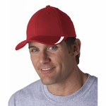 FLEXFIT W/CUT ON VISOR CAP: (5006)