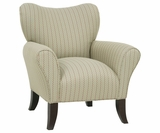 Abby Fabric Occasional Accent Chair