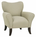 "Abby ""Designer Style"" Fabric Upholstered Occasional Chair"