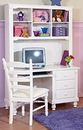 Adria Youth 3 Drawer Desk/Hutch And Chair Set